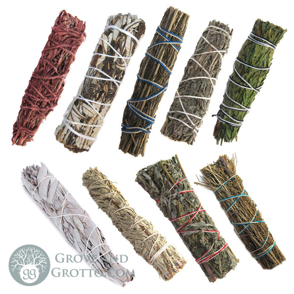 Ultimate 9-Piece Smudge Sampler - Grove and Grotto