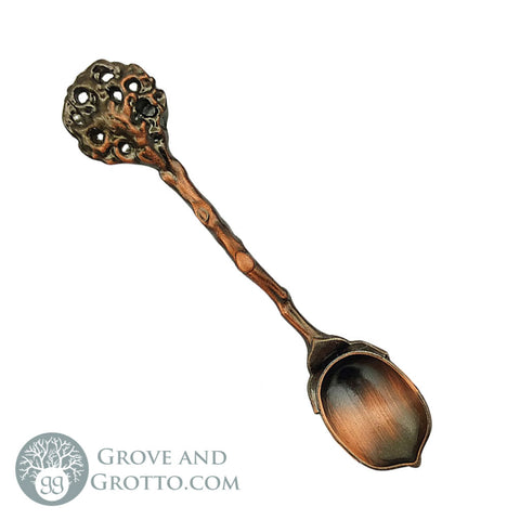 Acorn Fairy Spoon (Copper) - Grove and Grotto