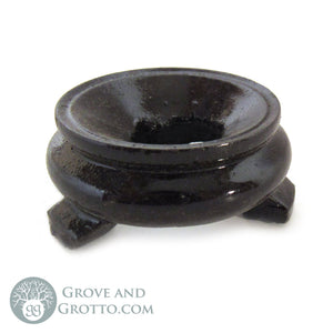 Dark Wood Crystal Ball Stand - Grove and Grotto