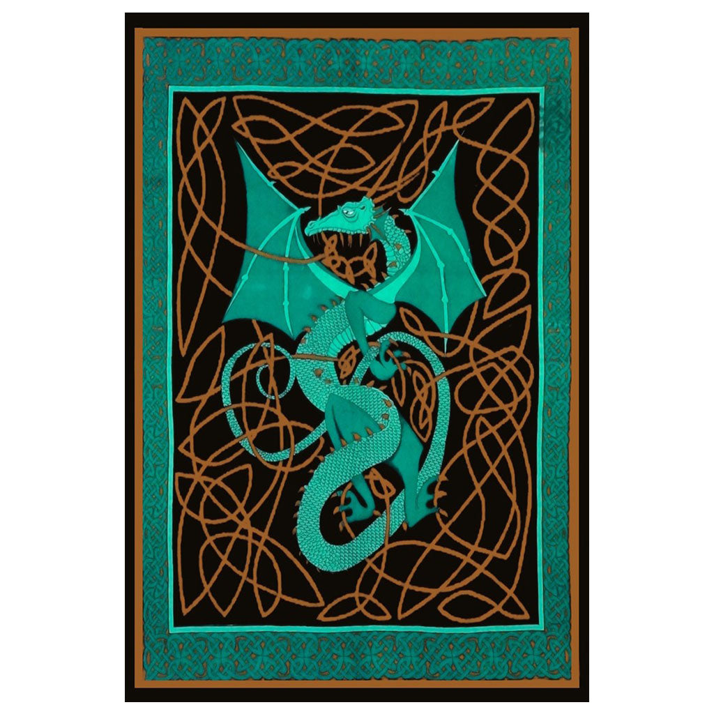 Green Dragon Tapestry