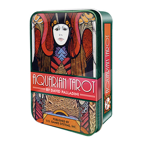 Aquarian Tarot (Collectible Tin) - Grove and Grotto