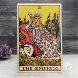 Tarot Art Print on Wood (The Empress)
