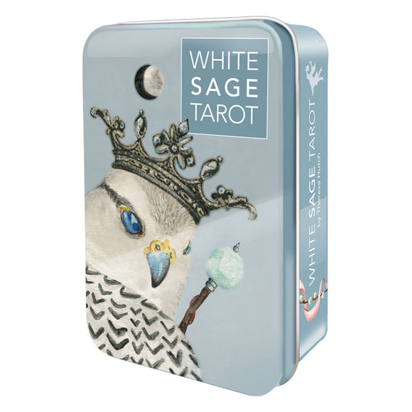 White Sage Tarot (Collectible Tin) - Grove and Grotto