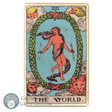 Tarot Art Print on Wood (The World)