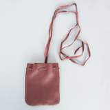 Leather Mojo Bag (Medium Brown) - Grove and Grotto