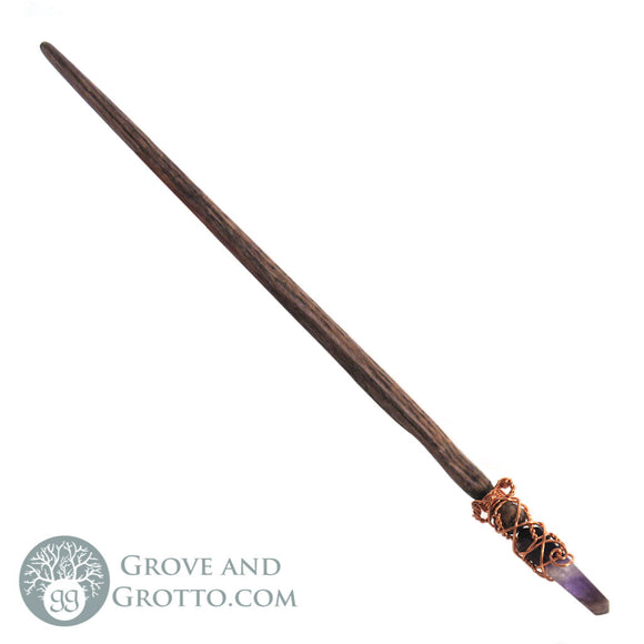 Amethyst Crystal Wand - Grove and Grotto