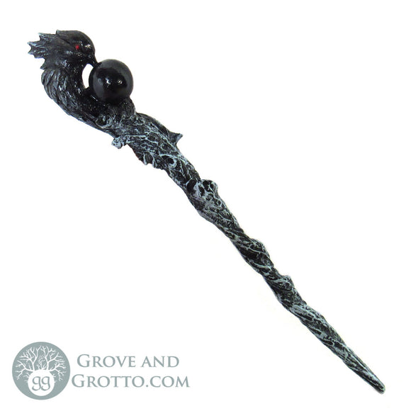 Crow Magic Wand - Grove and Grotto