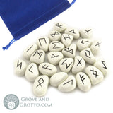 White Resin Rune Set - Grove and Grotto