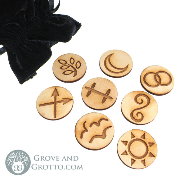 Witch's Runes (Set of 8) - Grove and Grotto