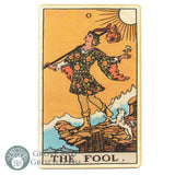 Tarot Art Print on Wood (The Fool)