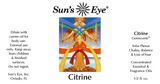 Sun's Eye Citrine Oil