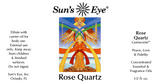 Sun's Eye Rose Quartz Oil
