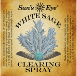 Sun's Eye White Sage Clearing Spray (2 oz) - Grove and Grotto