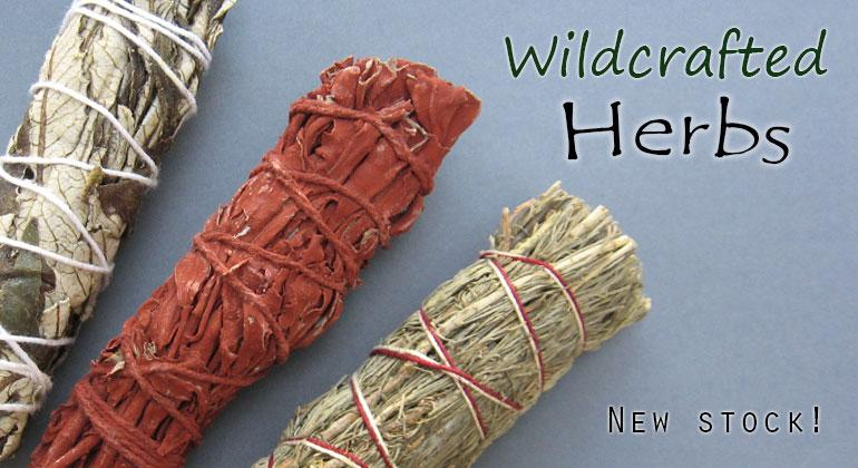 Wildcrafted herbs