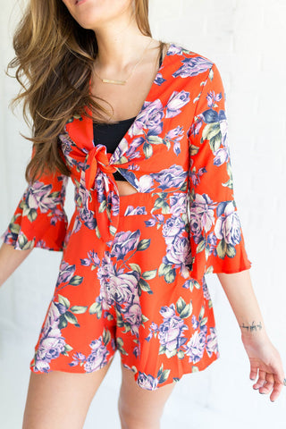 Cambria Romper // YFB-On The Road
