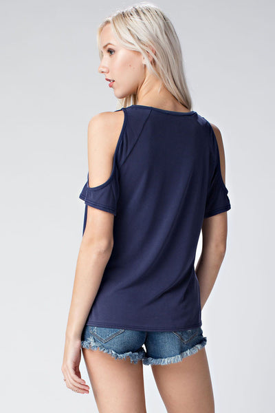 The Stella Cold Shoulder Top