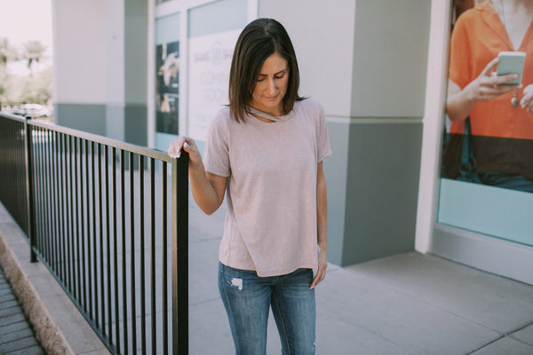 Addie Cut Out Top