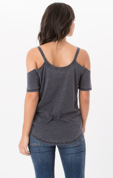 The Cold Shoulder Tee // Z.Supply (3 Colors)