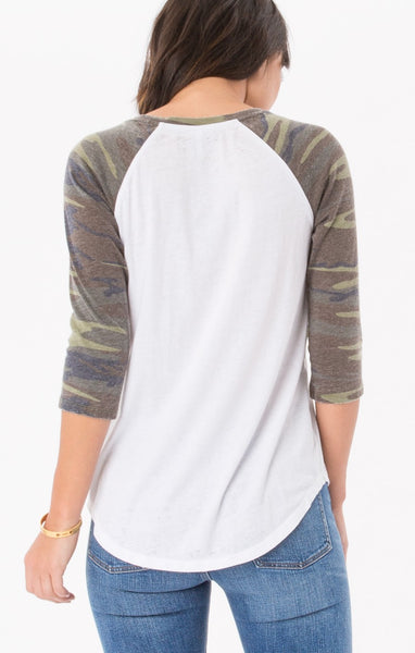 The Camo Baseball Tee // Z.Supply