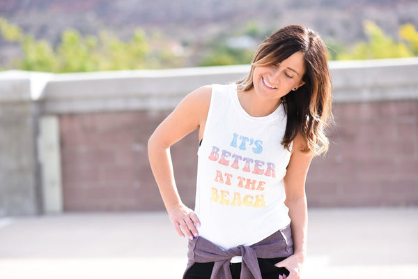 Better at the Beach Tank // Daydreamer