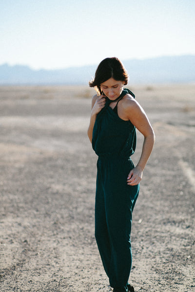 Emerald Jumpsuit