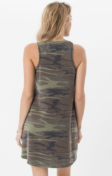 The Camo All Tied Up Dress // Z.Supply