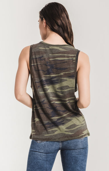 The Camo Muscle Tank // ZSupply