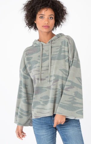 The Loft Camo Pullover Hoodie // ZSupply