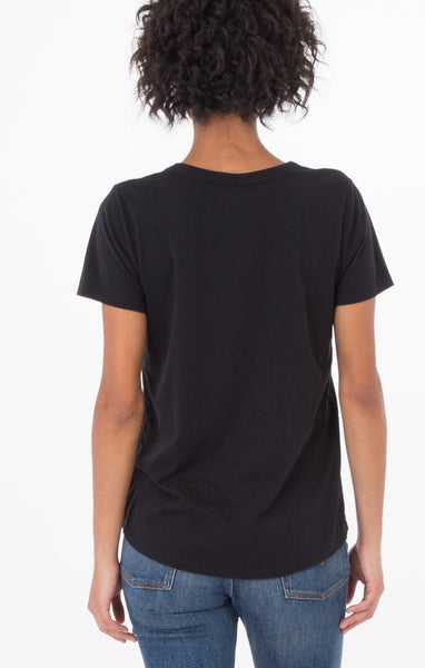 The Cut Out Tee (Black) // Z.Supply