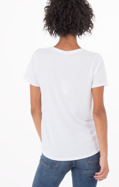 The Cut Out Tee (White) // Z.Supply
