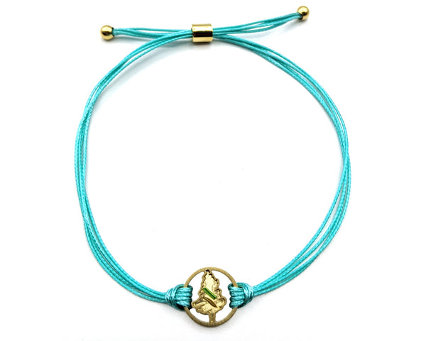 Adventure Stack - Turquoise/Gold