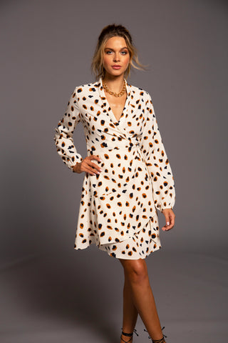 Jackie Wrap Dress