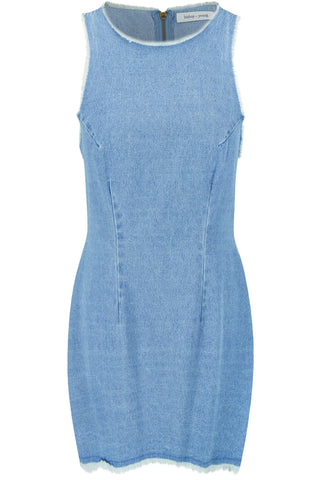 Frayed Shift Dress