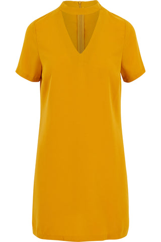 Sasha Shift Dress Mustard
