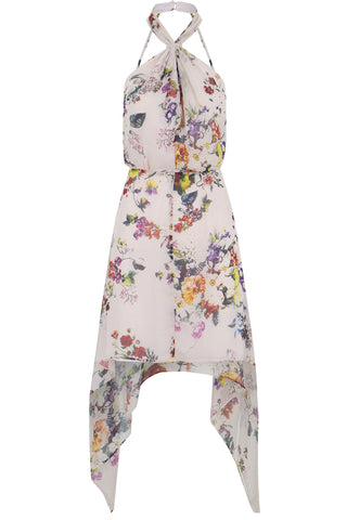 Ana Floral Halter Dress