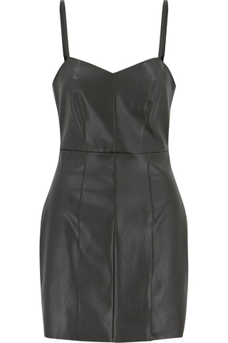 Sienna Vegan Leather Dress