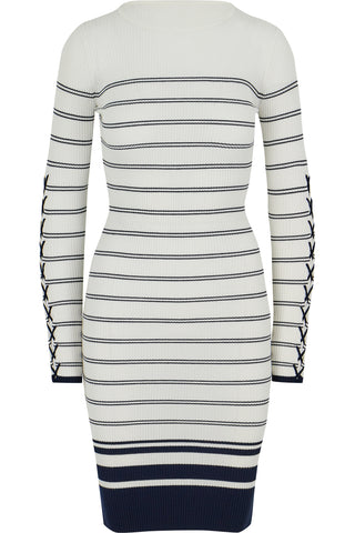 Marissa Striped Sweater Dress