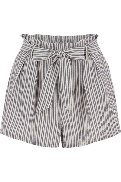 Paperbag Stripe Short