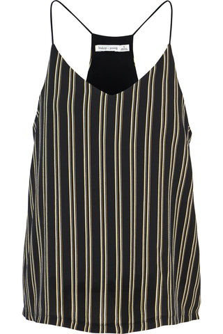 Black Stripe Cami