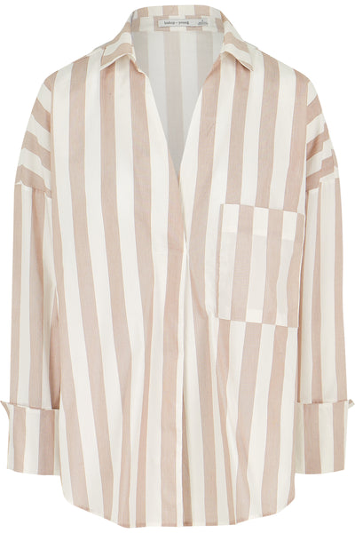 Poplin Stripe Tunic