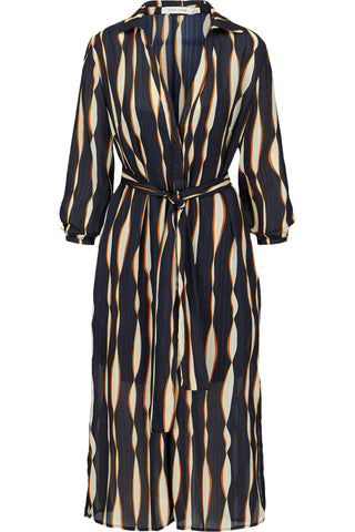 Mara Print Shirt Dress