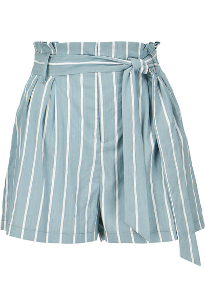 Striped Paperbag Short