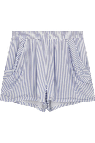 Stripe Drapey Short