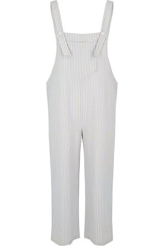 True Blue Stripe Overalls