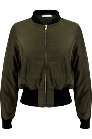 Bomber Jacket Army Green