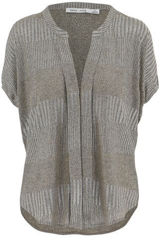 Blake Metallic Blouse