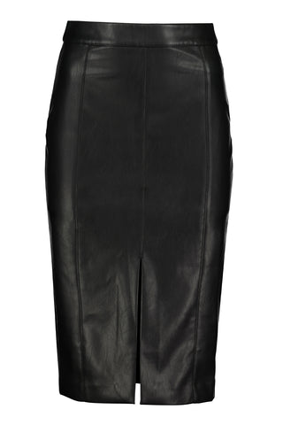 Bishop + Young Faux Leather Pencil Skirt