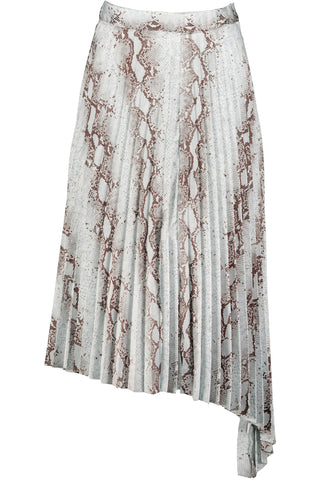 Untamed Pleated Midi Skirt