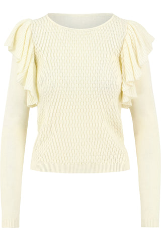 Sophia Ruffle Sweater