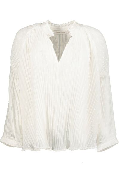 Modern Romance Pleat Blouse